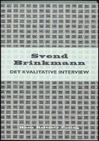 svend brinkmann det kvalitative interview